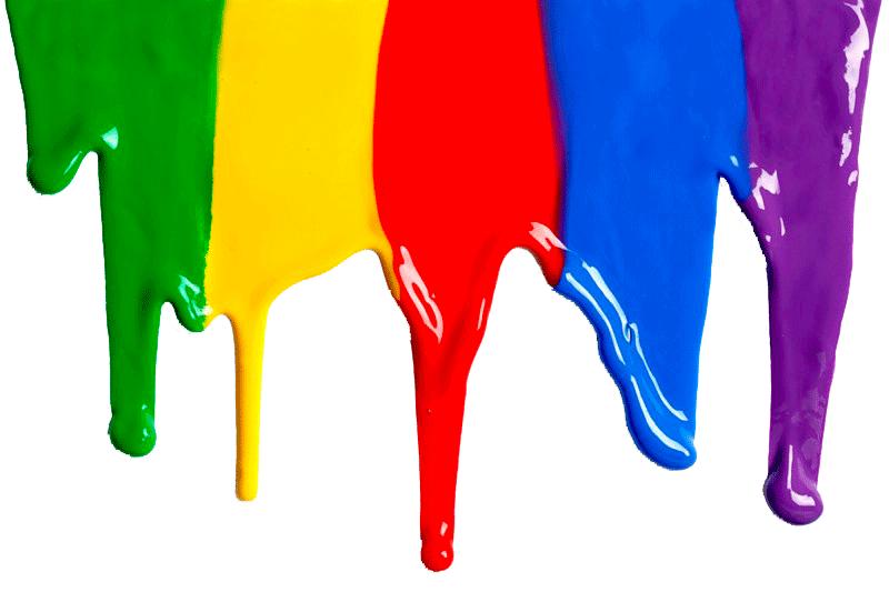 Мультиколорные краски | Стройка и ремонт