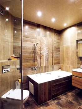 Обустройство ванной ремонт в