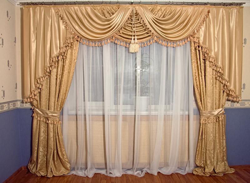 Красивые занавески шторы