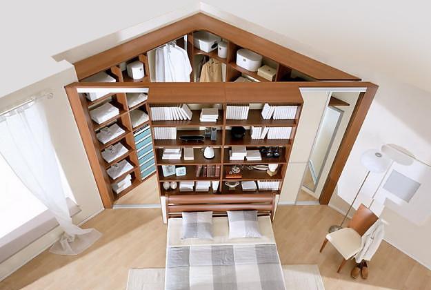 угловой шкаф для спальни