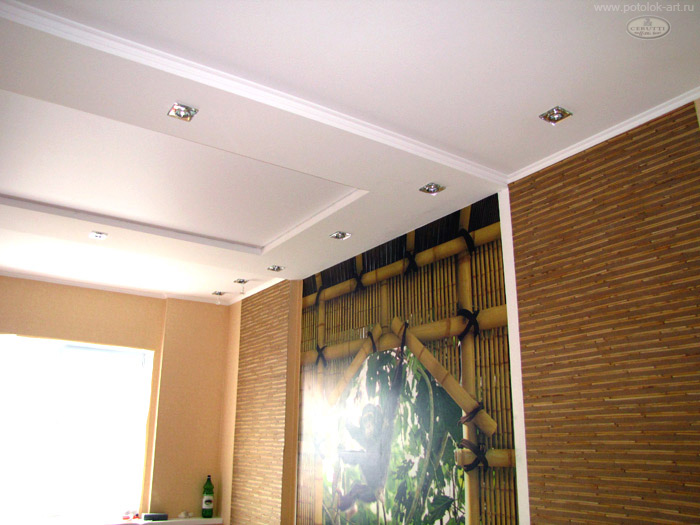 Poser Plafond Pvc. Cheap Fixer Un Tasseau Dans Luangle Murplafond ...