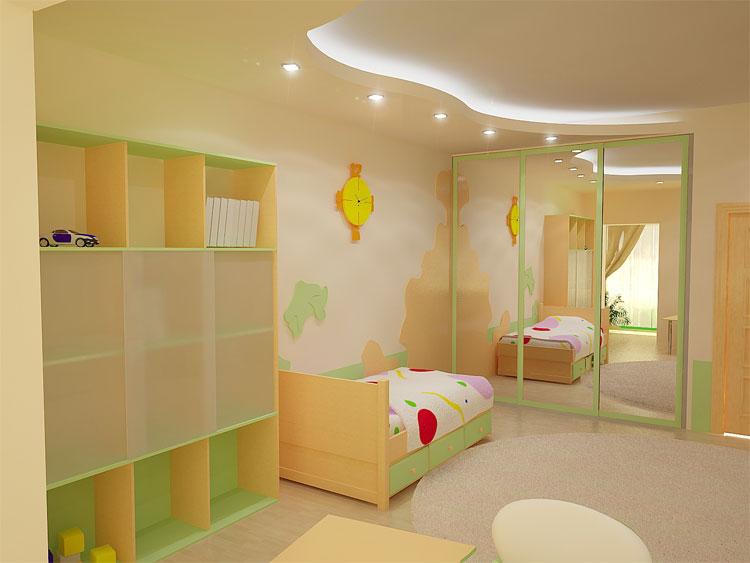 Правильно оформляем детскую комнату