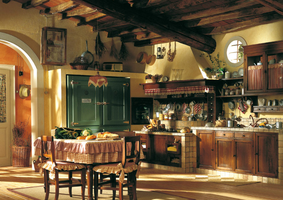 Кухни в стиле кантри стройка и ремонт