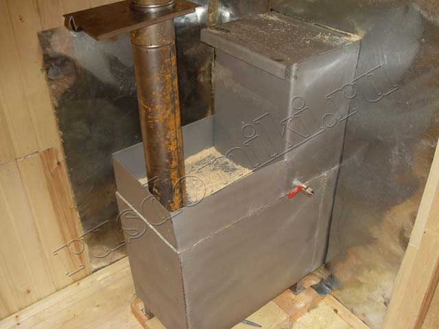 Как сделать метал печь для бани 106