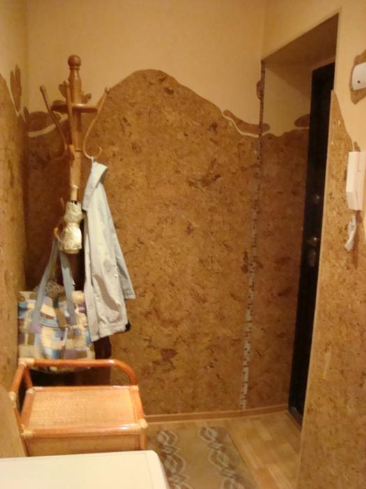 Пробка в интерьере стройка и ремонт.