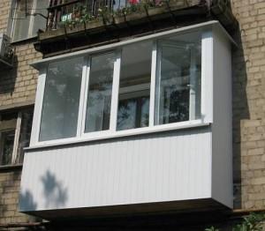Как застеклить балкон