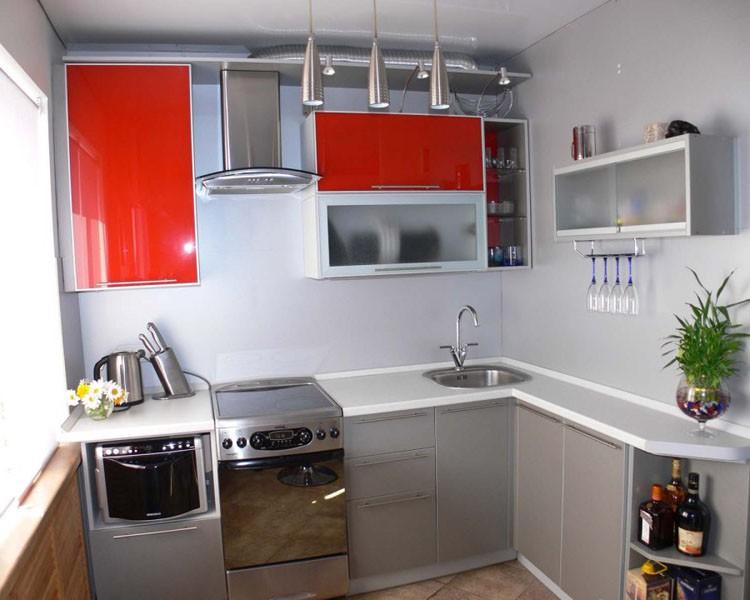 Дизайн спальня на кухне