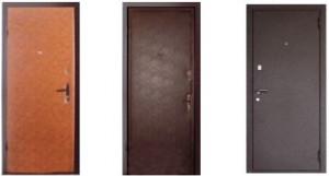 Основные характеристики металлических дверей