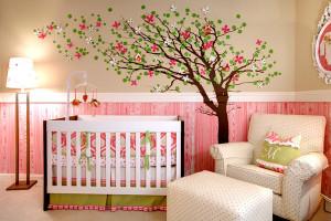 Идеи оформления стен в детской