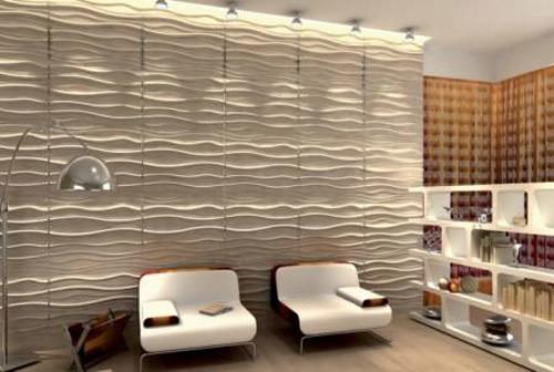Гипсовые 3 д панели для стен своими руками