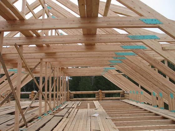 Стройка крыши своими руками