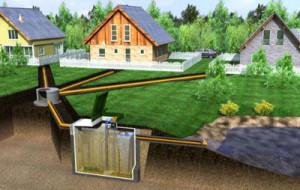 Автономная канализация в доме