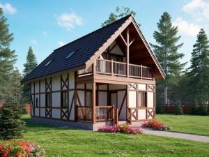 Эко строительство домов