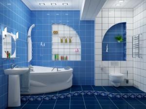 Косметический ремонт ванных комнат