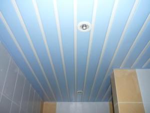 Пластиковый подвесной потолок самостоятельно