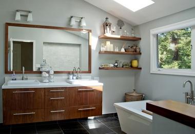 Выбираем «правильные» тумбочки в ванную